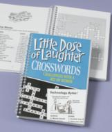 Little Dose of Laughter Crosswords Book