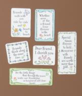 Flower-Themed Friendship Magnets - Set of 6