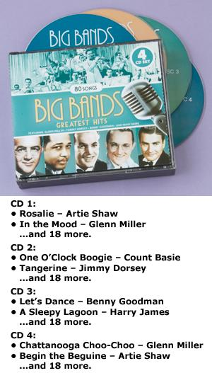 Big Bands Greatest Hits - 4-CD Set