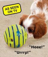 Wobble Wag Giggle Ball Dog Toy