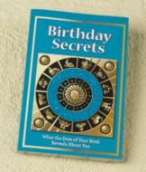 Birthday Secrets Book