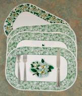 Magnolia Blossom Placemats - Set of 4
