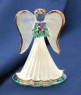 Handblown Glass Christmas Angel Collectible