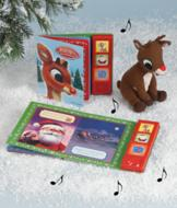 Rudolph Play-a-Sound Storybook and Toy
