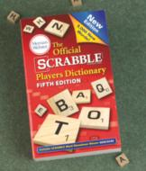 The Official Scrabble Dictionary
