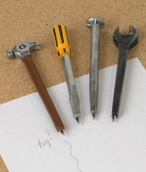 Writing Tools Pens - Set of 4