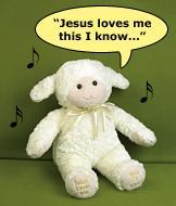 Melissa & Doug Jesus Loves Me Lamb