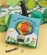 Melissa & Doug Peekaboo Cloth Book