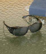 Wraparound Wear-Over Sunglasses