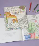 Cat Designs Coloring Book