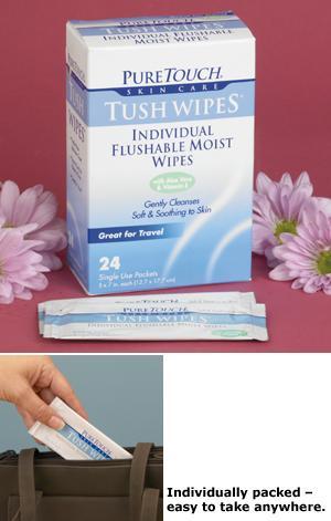 Tush Wipes - Pkg. of 24