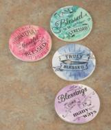 Blessed Coasters - Set of 4
