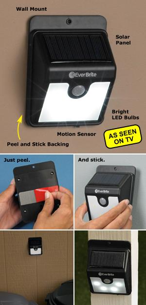 Ever Brite Motion-Activated Outdoor Light