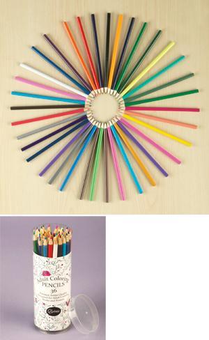 Adult Coloring Pencils - Set of 36