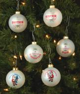 Special One Glass Ornament - Each