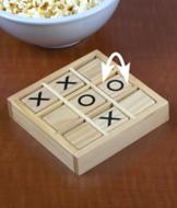 Wooden Tic-Tac-Toe