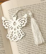 Stainless Steel Angel Bookmark
