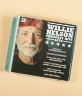 Willie Nelson Greatest Hits Live CD