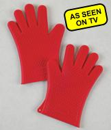 Hot Hands Silicone Cooking Gloves - A Pair