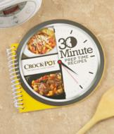 Crock-Pot 30 Minute Prep Time Recipes Book