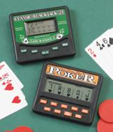 Hand-Held 5-in-1 Poker Game