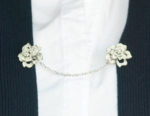 Flower Sweater Clip