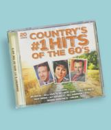 Country's #1 Hits of the 60's CD