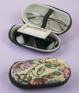 Tapestry Dual Eyeglass Case