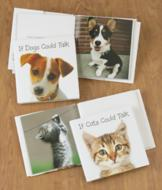 If Dogs/Cats Could Talk Book - Each