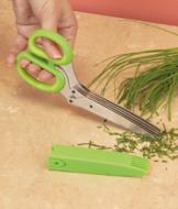 Herb Scissors with Storage Sheath