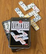 Double Six Dominoes with Storage Case