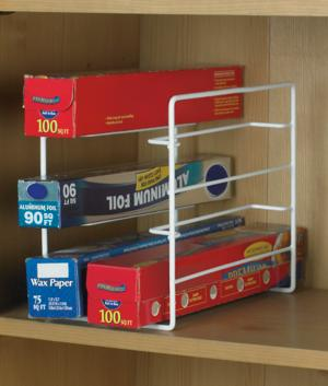 Kitchen Wrap Organizer & Kitchen Wrap Organizer - Storage and Containers - Kitchen - Starcrest