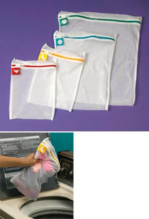 Mesh Laundry Bags - Set of 4