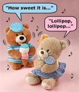 Lolli Singing Bear