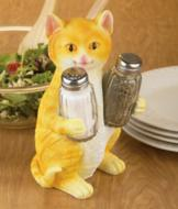 Cat Salt and Pepper Holder
