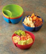 Chip and Dip Bowls - Set of 6