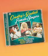 Country's Greatest Female Singers CD