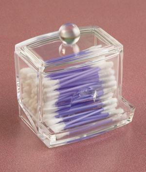 Cotton Swab Holder/Dispenser