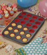 Mini Cupcake Pan with Baking Cups