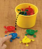 Jumping Frog Game with 12 Frogs