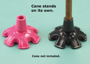 Super Bigfoot Cane Tip - Black