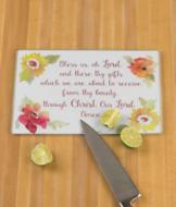 Bless Us Cutting Board