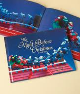 The Night Before Christmas: A Brick Story Book