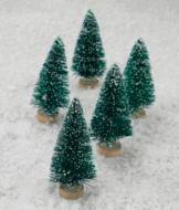 Mini Christmas Trees - Set of 5