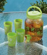 Beverage Dispenser and Cups Set