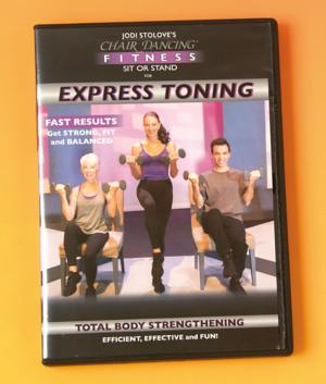 Chair Dancing Express Toning DVD