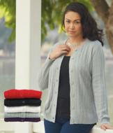 Cable-Knit Cardigan - Each