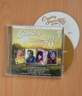 Country Superstars of the 70's - 2-CD Set