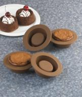 Brownie Bowl Molds - Set of 4