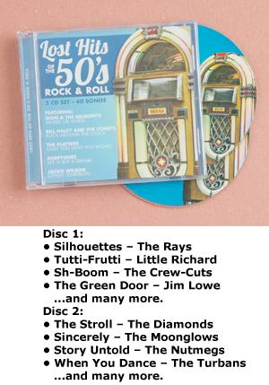 Lost Hits of the '50s - 2-CD Set